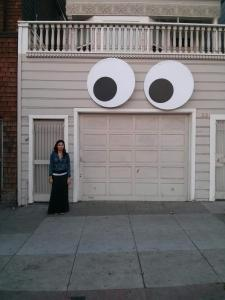 I always feel like some houses are watching me...