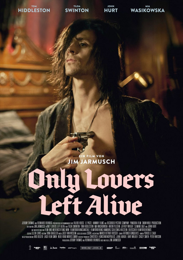 [Photo] Only Lovers Left Alive Movie Poster