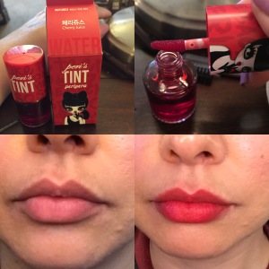 Cherry Juice shade of Peri's Tint by Peripera